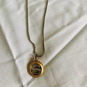 Brighton initial necklace